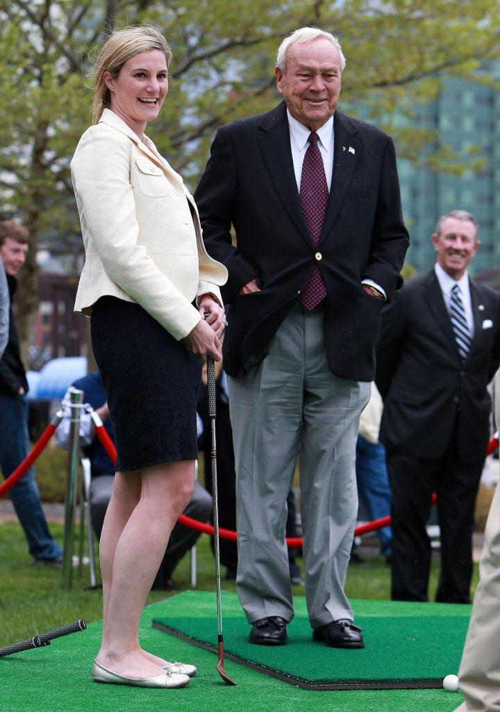 Arnold Palmer at Ouimet Fund