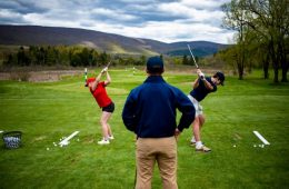 Golf Instruction with a Pro