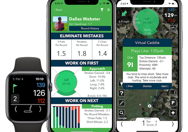 V1 Game App Gaining Popularity Among Amateur and Pro Golfers