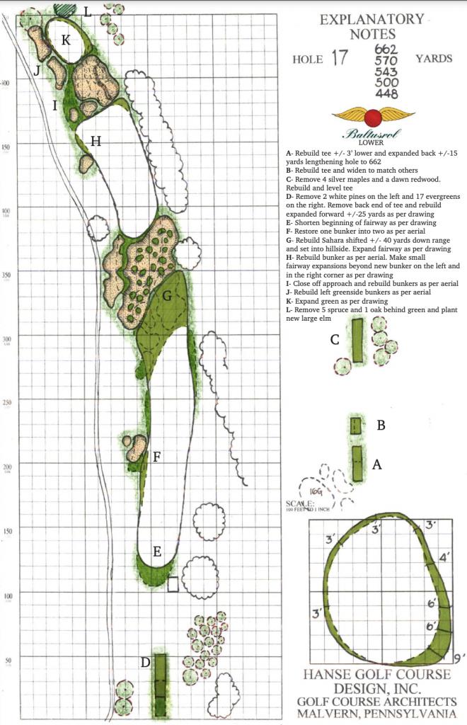 "Grade ""A"" Architecture: Baltusrol Golf Club"